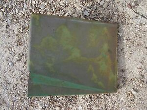 John Deere Mt Tractor Original Jd Battery Panel Cover Door W Tool Box