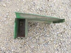 John Deere Mt Tractor Original Jd Battery Panel Cover Door W Tool Box Jd