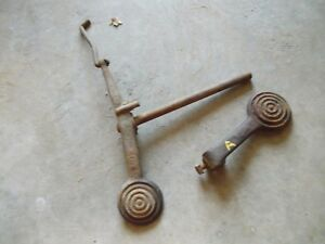 Styled John Deere A Tractor Original Jd Power Trol Engagement Foot Pedals Rod