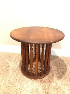 Washington Woodcraft Arthur Umanoff Side Table Mid Century Modern Walnut 1 Of 2