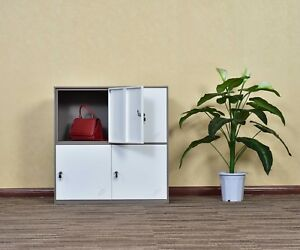Office And School Metal Cabinet Locker Storage For Cloth Bags Or Shoes