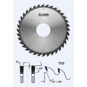 Fs Tool Xl4000 12 36 Tooth Rip Saw Blade 70mm bore W Keyways For Scm S22306 70