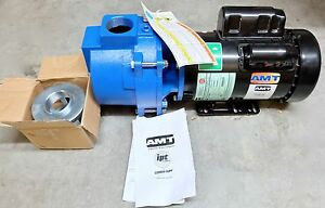 New Amt 316b 95 Sewage Trash Pump Cast Iron 3hp 230v 1ph 2 Inch