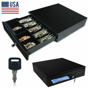 Cash Drawer Box Works Compatible Epson star Pos Printers W 5bill