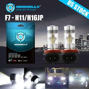 2pcs H11 H8 Cree Led Fog Light Bulbs Replace Hid Xenon For Ford Focus 2005 2018
