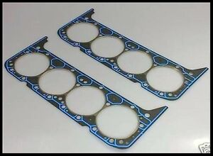 Sbc Chevy 400 Felpro 1014 Steam Hole Head Gaskets For Aluminum Heads 17031 X 2
