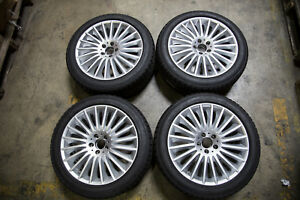 Set Of 4 Oem Mercedes Benz S Class Rims Bridgestone Pirelli Tires 2224011502
