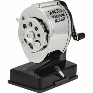 X acto Vacuum Mount Manual Pencil Sharpener 1072t