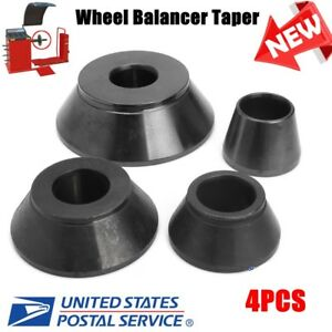 4 Pcs Wheel Balancer Taper Cone Kit Standard 40mm Shaft Coats 1 77 To 5 39