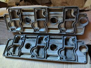 Porsche 911 964 Carrera C2 C4 89 94 Valve Cover Set pair Melted Plastic On One