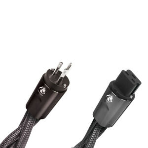 Audioquest Nrg Dragon High current 20 amp Ac Power Cable 2 Meters