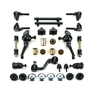 1968 1969 Dodge Dart Black Polyurethane Front Suspension Master Rebuild Kit Disc