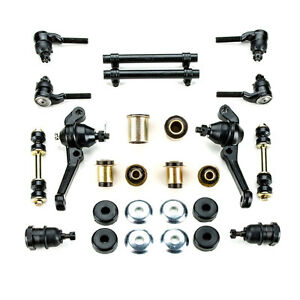 1963 1969 Dodge Dart Black Polyurethane Front End Suspension Rebuild Kit Drum
