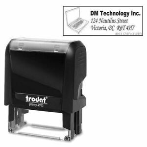 Trodat Climate Neutral 4913 Self inking Stamp 97455