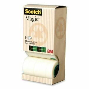 Scotch Magic 810r1833 Tape With Dispenser Tower 810r1833