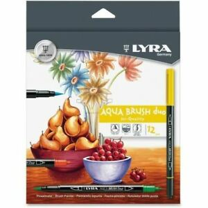 Lyra Dual Tip Marker Assorted 12 Per Pack 6521120