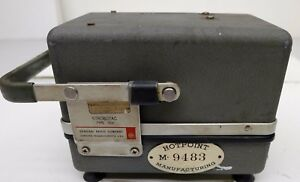 General Radio Strobotac Type 1531 Stroboscope Light System Free Shipping