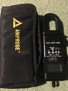 Amprobe Clamp Meter Acdc 600 Model