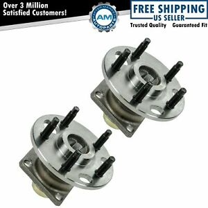 Rear Wheel Hub Bearing Assembly Pair Set For Buick Cadillac Chevy Pontiac