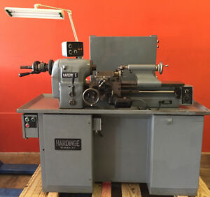 Hardinge Tfb h 125 To 3000 Rpm 1 5 Hp 440 V 60 Hz 3 Ph Super Precision Lathe