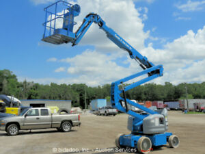 2008 Genie Z40 23n 40 Electric Articulating Boom Lift Man Aerial Platform