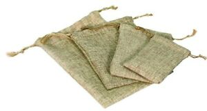 60 Mixed Size Modern Burlap Pouches Jewelry Bags Jewelry Pouch Gift Bags Deal