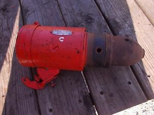 Allis Chalmers C Ac Tractor Working Engine Motor 6v Starter Assembly
