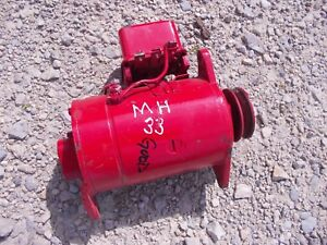 Massey Harris 33 Tractor Good Working 6v Generator Belt Pulley
