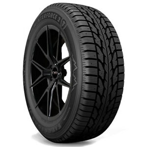 4 New P245 65r17 Firestone Winterforce 2 Uv 105s Tires