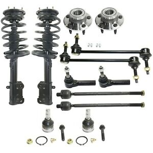 Shock Absorber And Strut Assembly Kit For 2005 2009 Ford Mustang 12pc