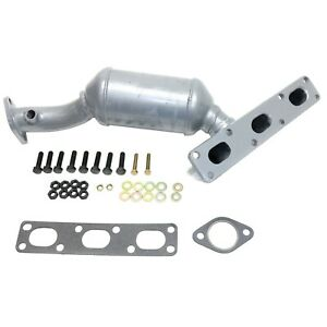 Catalytic Converter For 2001 2006 Bmw 325 330 Z3 Z4 X3 2 Sensor Ports Rear