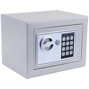 Small mini Cabinet Safes Electronic Digital Steel Security Box With Key For Home