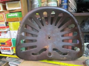 Antique Cast Iron Farm Tractor Implement Seat 1800 s International Harvester