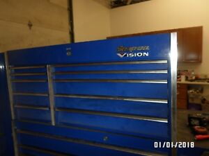 Snap On Uppper Double Bay Top Chest Tool Box Krl1201 Royal Blue Chicago Milwauke