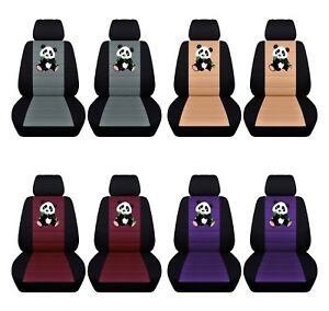 Car Sedan Seat Covers 2014 2018 Toyota Corolla Personalize Panda Design Abf