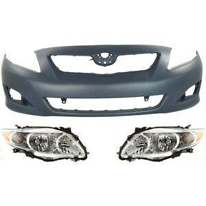 New Auto Body Repair Front For Toyota Corolla To1000343 To2502182 To2503182