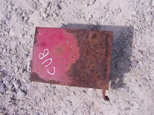 Farmall Cub Tractor Ih Tool Box For Under Seat