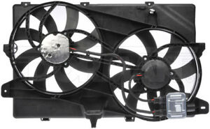 New Engine Radiator Dual Cooling Fan Assembly With Controller Dorman 621 392