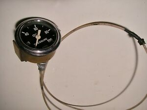 1960s Sw Stewart Warner Oil Pressure Gauge Amc Chevy Ford Mopar