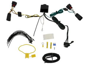 Trailer Hitch Wiring Harness Flat Four Plug Fits 2018 To 2019 Jeep Jl Wrangler