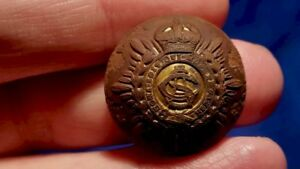 Dug Old Military Button