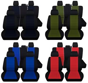 Truck Seat Covers 2011 2014 Ford F150 Custom Design Personalize Black Set Abf