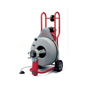 Ridgid 42007 K 750 Drain Cleaner With Autofeed And C 100 Cable