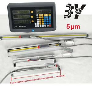 3 Axis Digital Readout With High Precision Linear Scale Encoder New