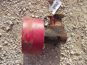 Farmall Cub Rowcrop Tractor Original Ih Ihc Steel Belt Pulley Drive Assembly