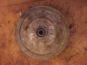 Farmall Cub Cub Lo Low Boy Tractor Ih Mower Deck Main Pto Belt Drive Pulley