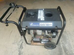 Champion 5250 Running 6500max Watts El Start 10 Hp Tecumseh Engine And Cable