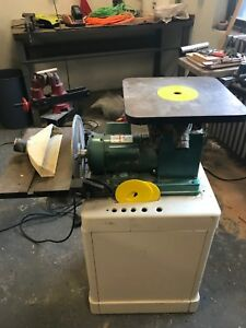Grizzly G0529 oscillating Spindle Disc Sander Needs New Gear Base Not Included