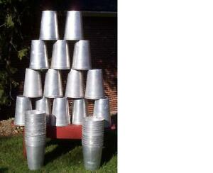 12 Aluminum Sap Buckets Maple Syrup Bucket Very Nice