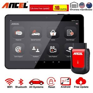 Ancel X5 Wifi Full System Car Obd2 Scan 8 tablet Abs Srs Epb Oil Diagnostic Tool